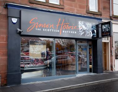 Simon Howie Shop front