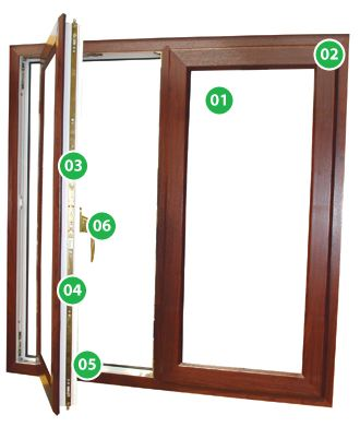 Casement Window Specification Image