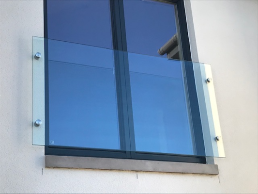 Glass Juliet balcony