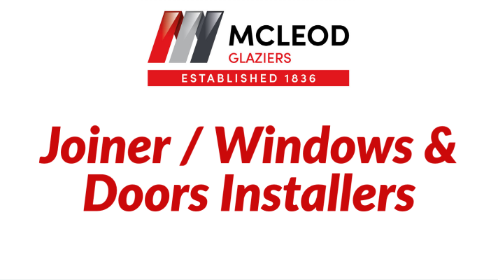 Windows and Doors Installers McLeod Glaziers