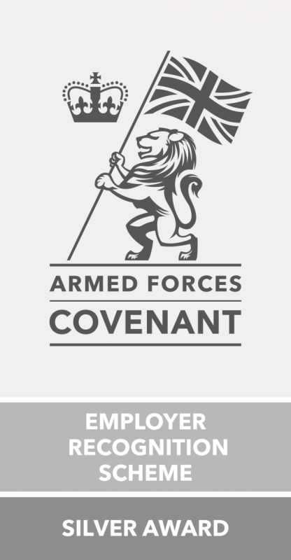 Silver Armed Forces Covenant award