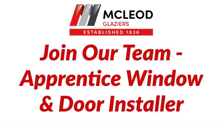 Apprentice Window & Door Installer